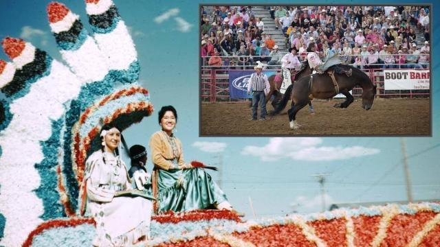 Miss Indian America / Sheridan WYO Rodeo