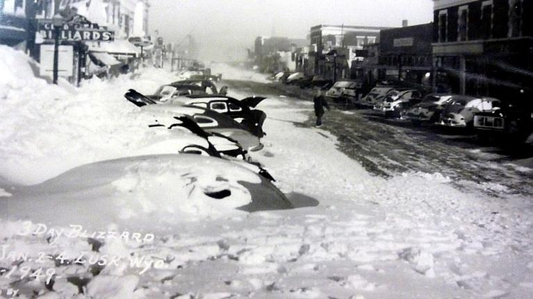 Wyoming History: Blizzard of '49