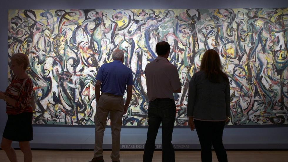 Jackson Pollock's Mural: The Story Of A Modern Masterpiece image