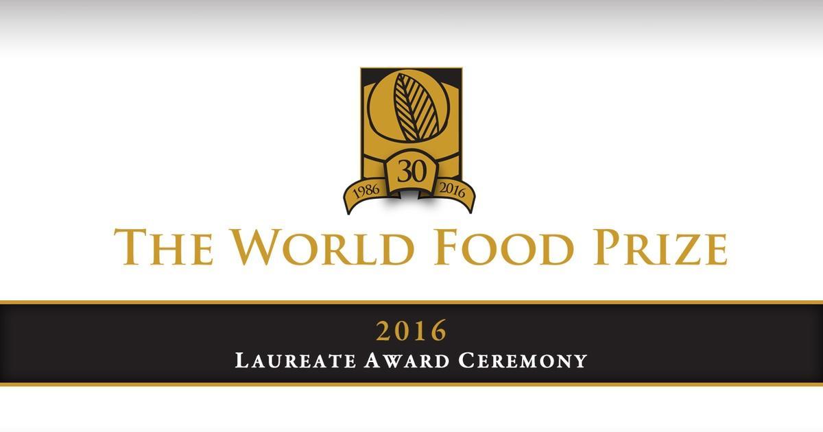 2016 World Food Prize | IPTV Presents | NHPBS