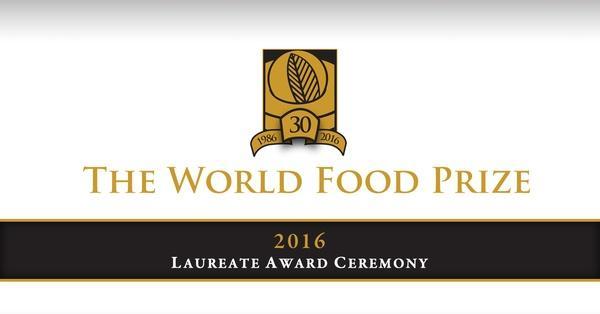 2016 World Food Prize | IPTV Presents | PBS39