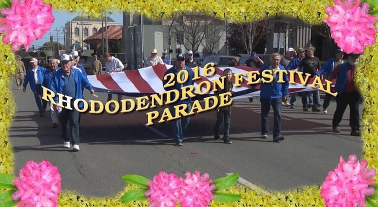 2016 Rhododendron Parade: 2016 Rhododendron Parade