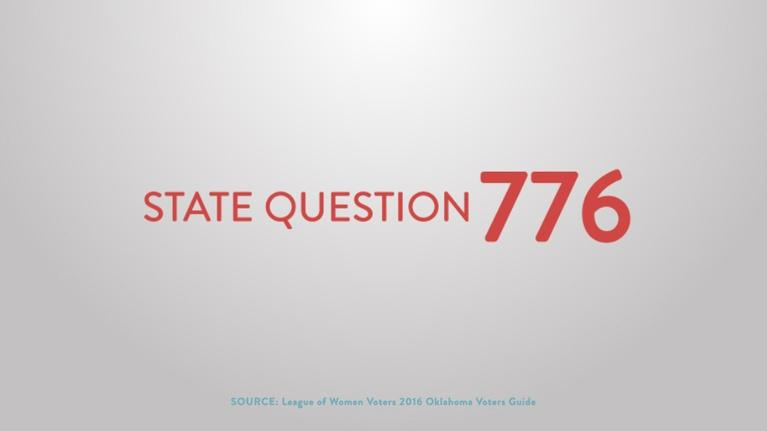 Election Coverage: State Question 776