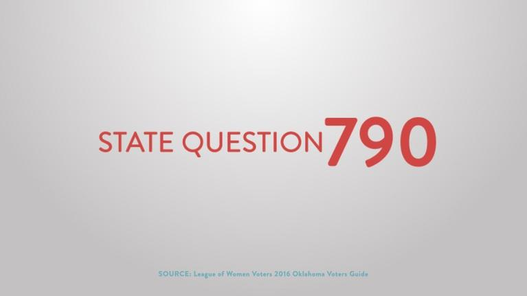 Election Coverage: State Question 790