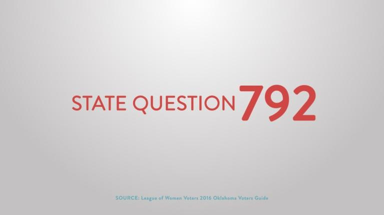 Election Coverage: State Question 792