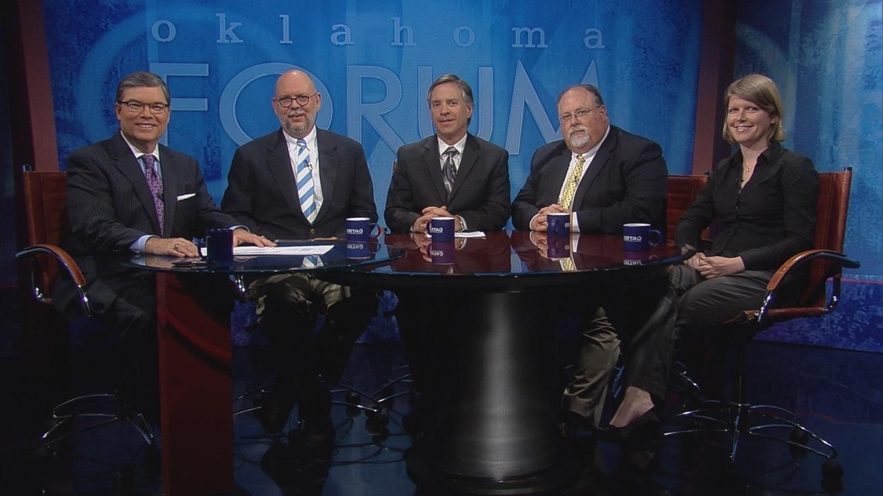 Video capitol reporters roundtable watch oklahoma forum for Oeta schedule