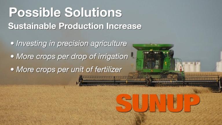 SUNUP: Feeding 9 Billion People