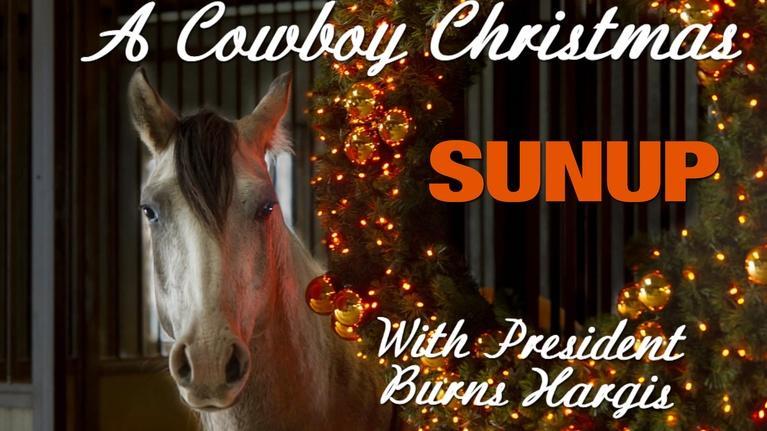 SUNUP: A Cowboy Christmas
