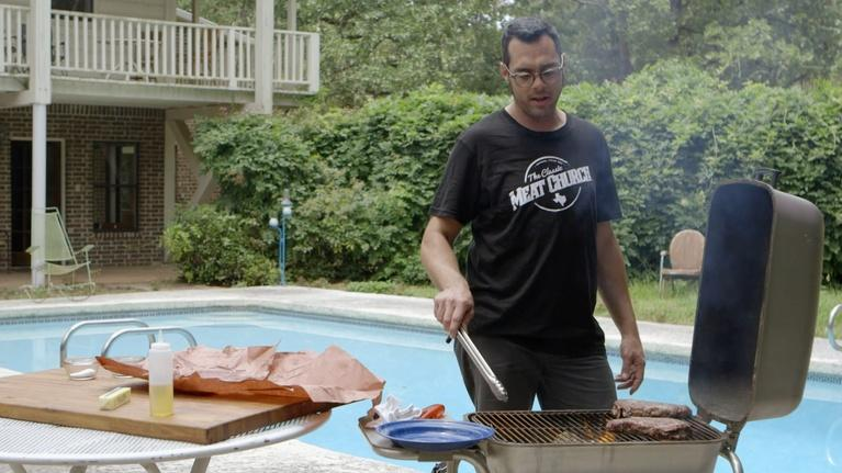 BBQ with Franklin: Direct Heat & Mesquite