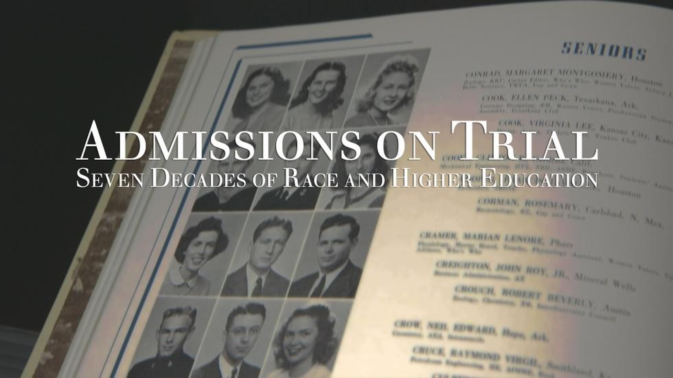 Admissions On Trial: Seven Decades of Race and Higher Ed image