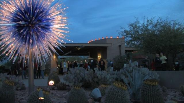 Phoenix Desert Botanical Garden, Dale Chihuly