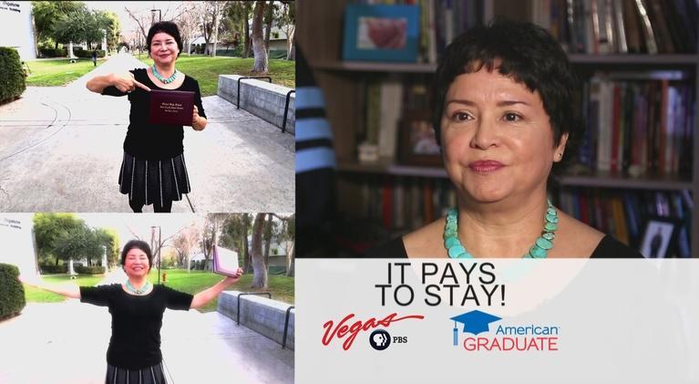 Vegas PBS American Graduate: Dr. Carol Lee Dodge Francis PSA