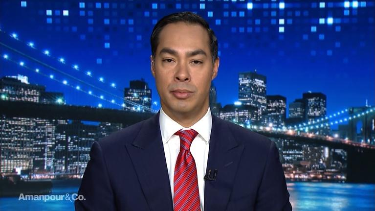 Amanpour and Company: Julián Castro on the Latino Voting Problem