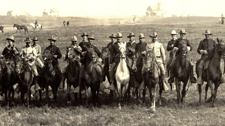 Moments in Time: Rough Riders in New Mexico