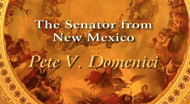 Notable New Mexicans: The Senator from New Mexico: Pete V. Domenici