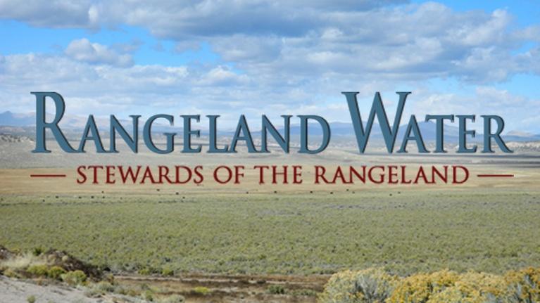 Stewards of the Rangeland: Rangeland Water: Stewards of the Rangeland