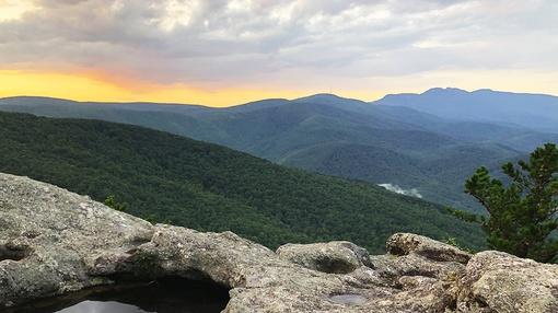 Overview : How the Blue Ridge Mountains (Almost) Lost Their Blue