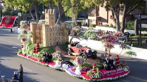 LAaRT -- Downton Abbey Rose Parade Float