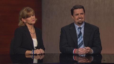 Real Orange -- Teacher of the Year 2013 Scott Bedley and Linda Horist