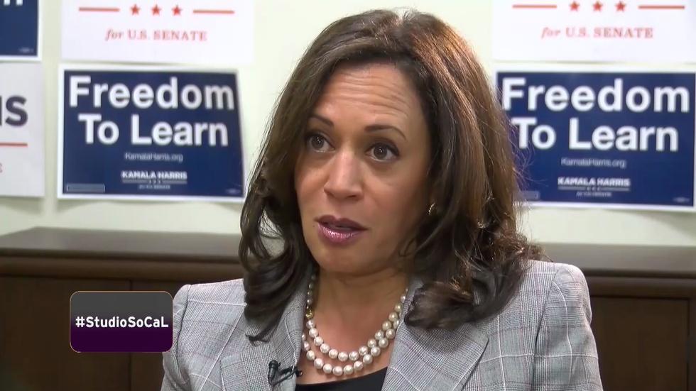 California Attorney General Kamala for U.S. Senate image