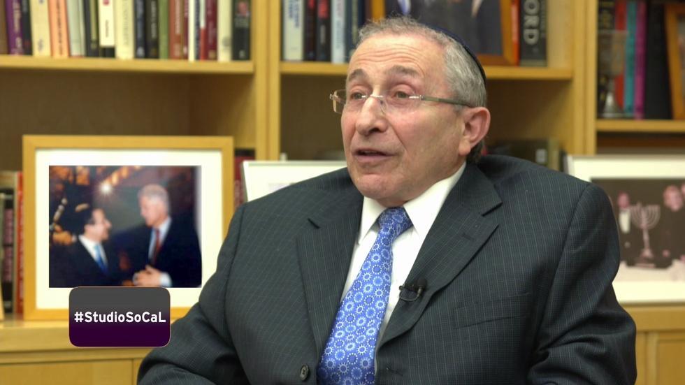 Rabbi Marvin Hier Discusses Trump Muslim Ban image