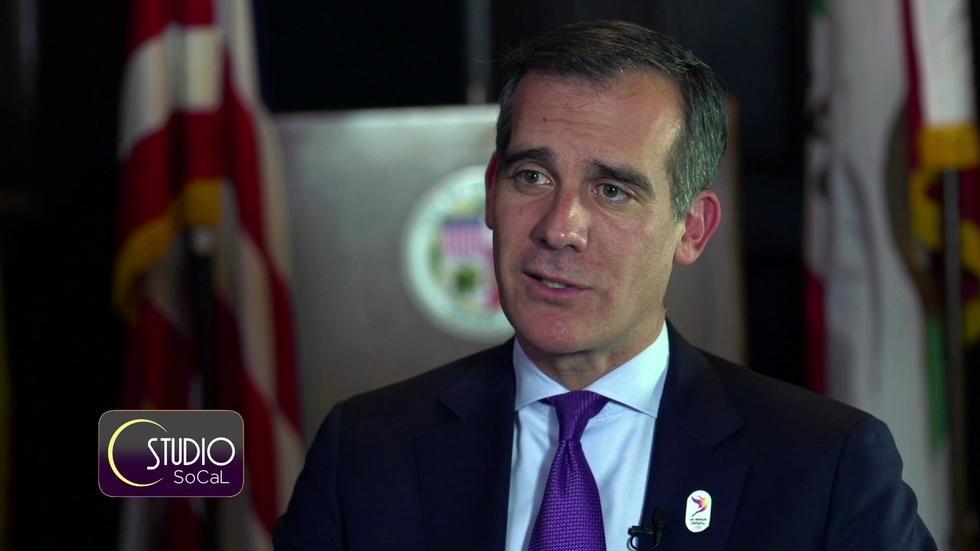 Mayor Eric Garcetti Talks All Things L.A. image