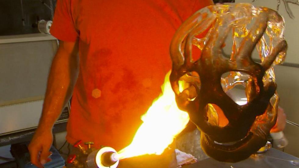 Glass Sculptor Eric Franklin image
