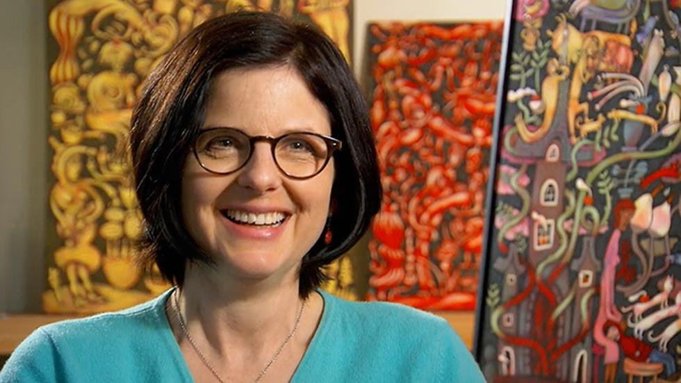 Painter Alison O'Donoghue image
