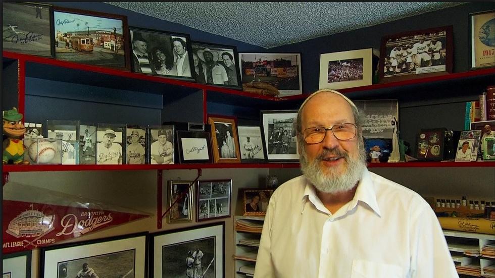 Baseball and The Rabbi image