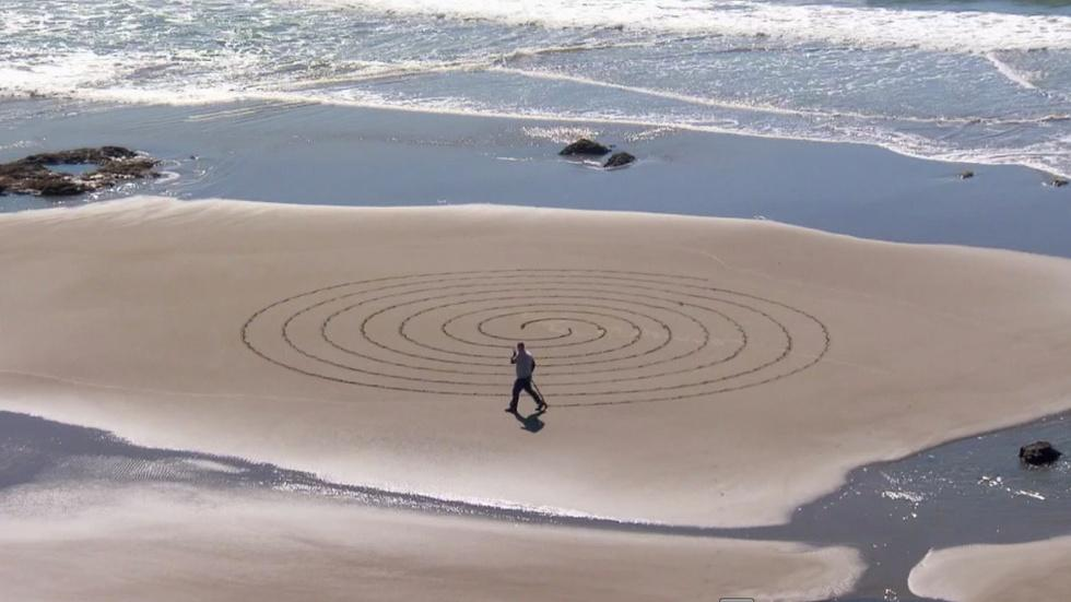 Sand Labyrinth image