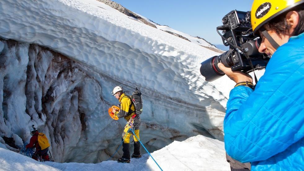 Behind the Scenes of Glacier Caves: Mt. Hood's Secret World image