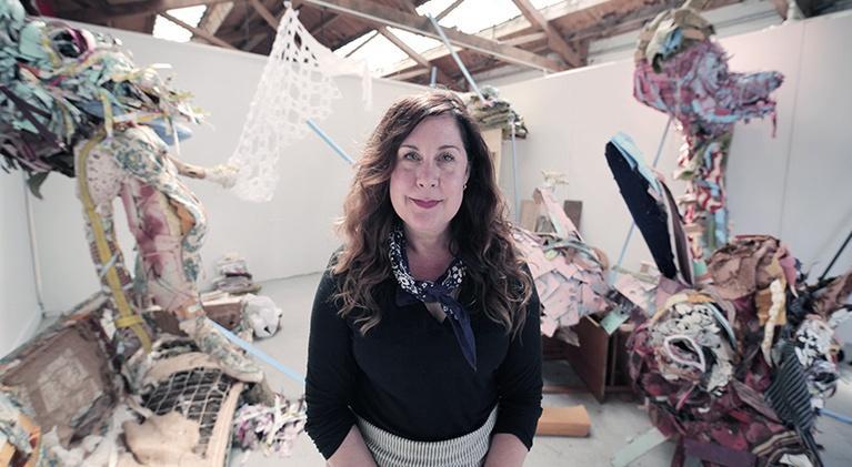 Art School: Elisabeth Higgins O'Connor, Shantytown Fairytale Sculptor