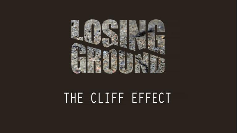 Women and Girls Lead: Colorado: Losing Ground: The Cliff Effect