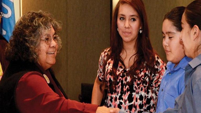 Women and Girls Lead: Colorado: Colorado MAKERS: Pearl Casias