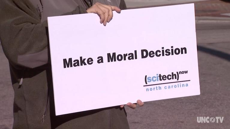 SciTech Now North Carolina: Moral Decisions, Worm Motels and Satellite Maps