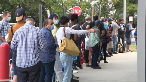 Endless lines continue at the Motor Vehicle Commission