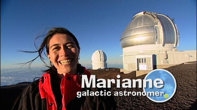 Perfil Científico: Astrónoma