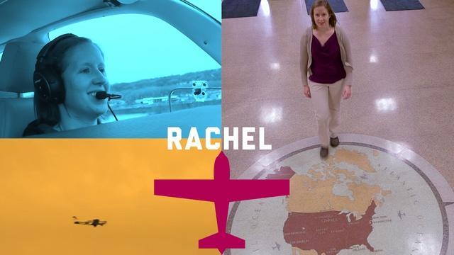 Rachel Obermoller - Piloto | Representante de aviación