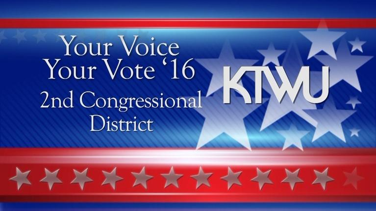 KTWU Special Programs: Your Voice Your Vote '16: 2nd Congressional District