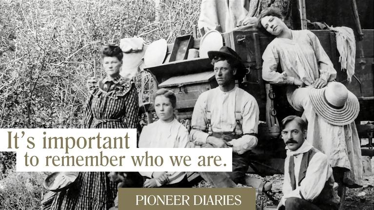 Utah History: Pioneer Diaries: It's Important to Remember Who We Are