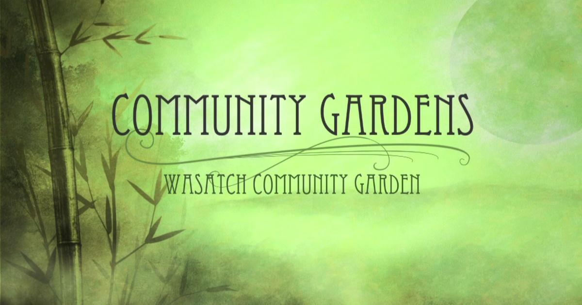 Wasatch Community Gardens | Utah Now | PBS