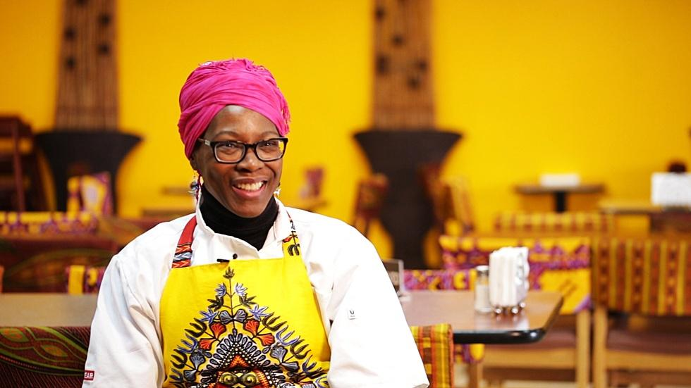 Cathy Tshilombo-Lokemba, Chef and African fashion guru S3 E6 image