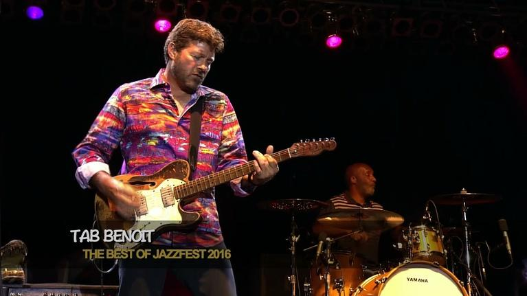 The Best of JazzFest: Tab Benoit