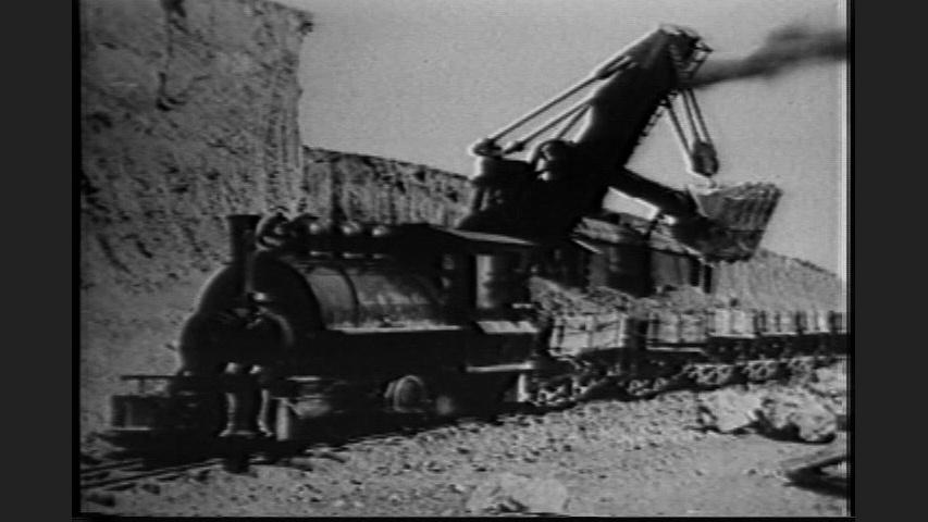 Building Orman Dam - 1907