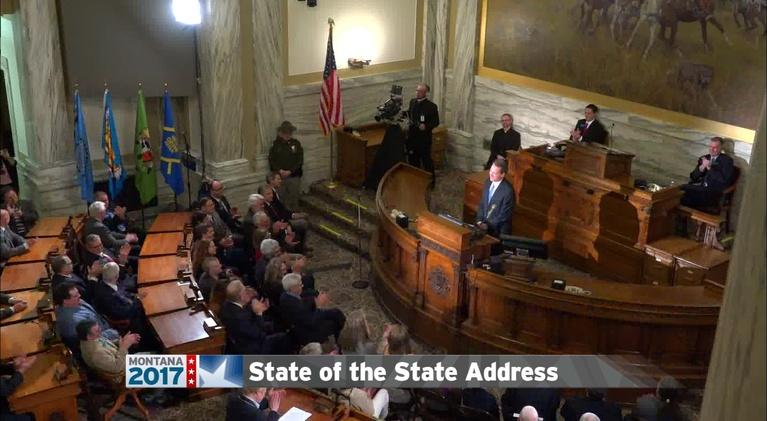 Montana PBS' Coverage of the 'State of the State Address': 2017 State Of The State Address