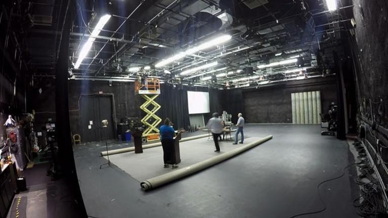 KVIE Presents: Bera/Jones 2016 Debate Studio Setup Timelapse