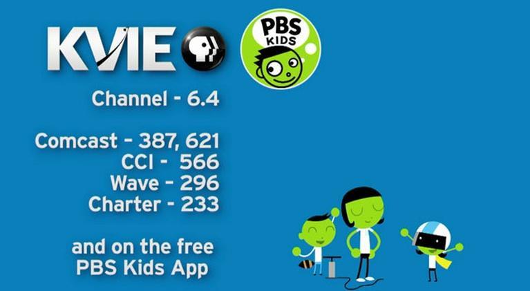 KVIE Presents: New 24/7 Kids Channel on KVIE