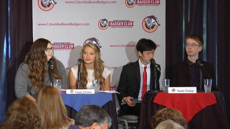 Columbia Basin Badger Club: Who Should Be Our Next President:  Debate