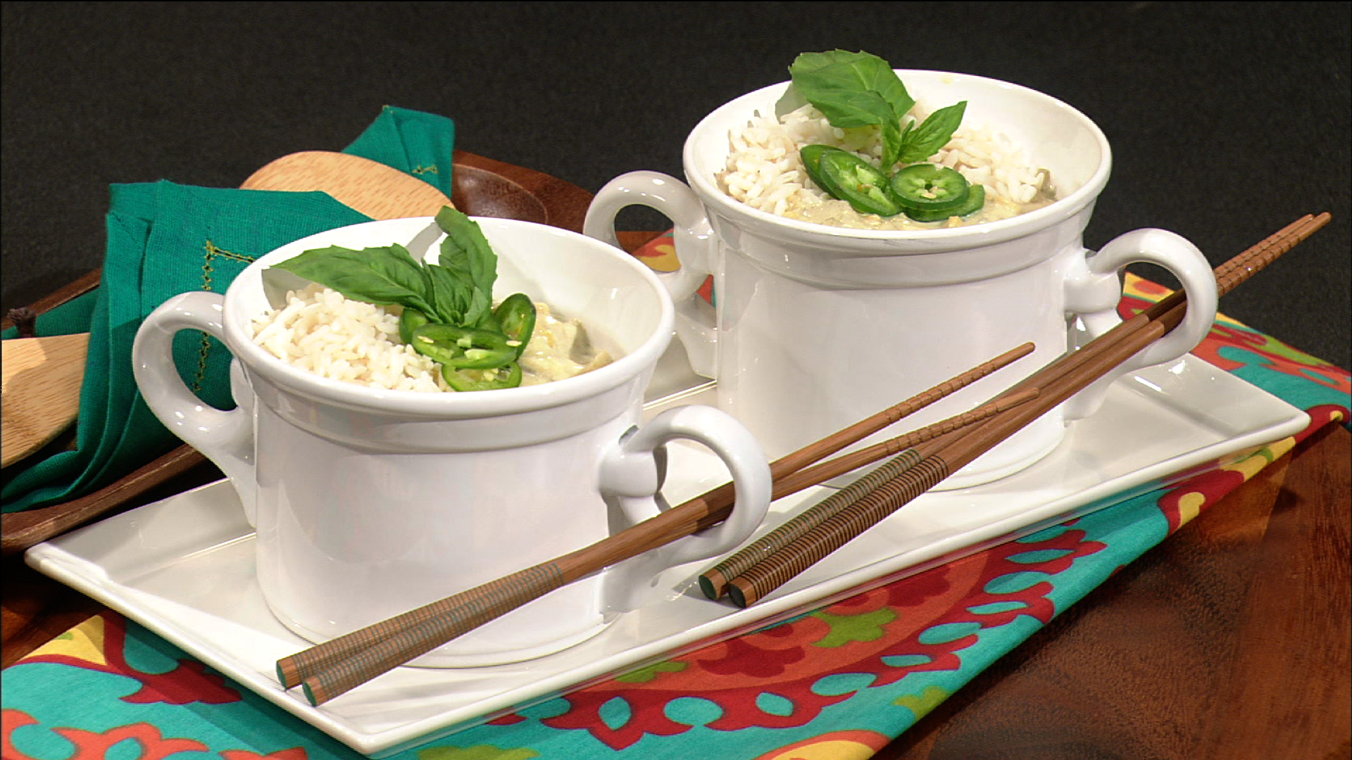 Simple Cooking: Green Curry Fish
