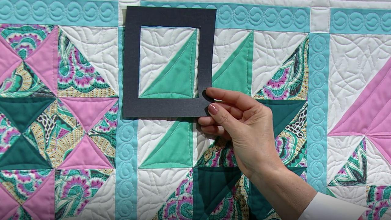 Best of Sewing With Nancy: No-Hassle Triangles Quilt Blocks, Part 1